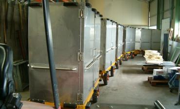 Train de remorque isotherme Inox
